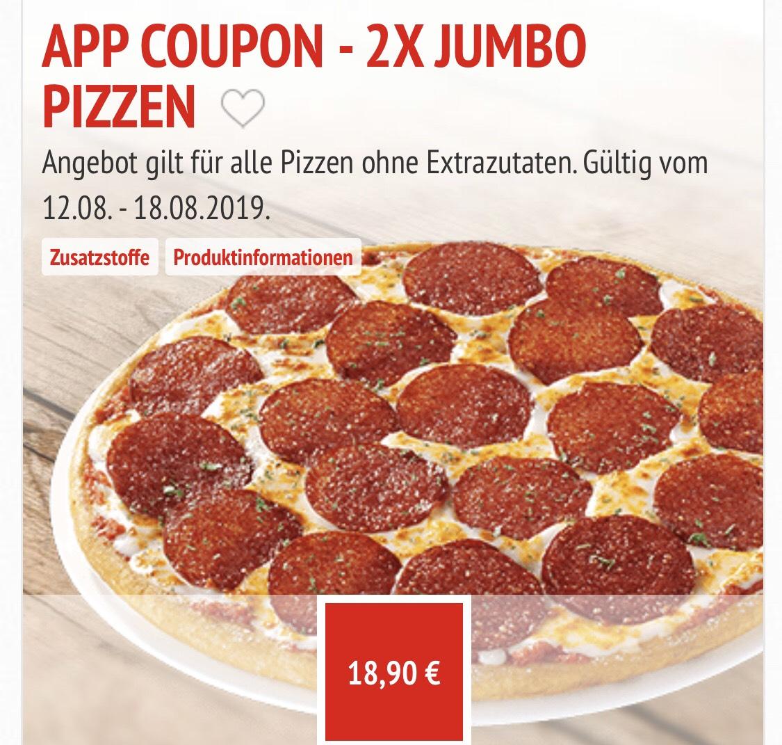 Call a Pizza - Jumbo doppelt erhalten!