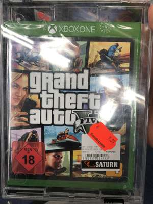 [Lokal] GTA 5 xBox One & PS 4 für je 9,99€ im Saturn Mall of Berlin & Eastgate