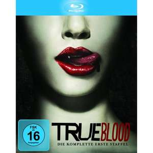 True Blood - Die komplette Staffel 1-3 [Blu-ray] für je 16,99 Euro @ Amazon.de