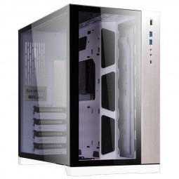 Lian Li PC-O11DW Dynamic Midi-Tower, Tempered Glass - Weiß & Schwarz
