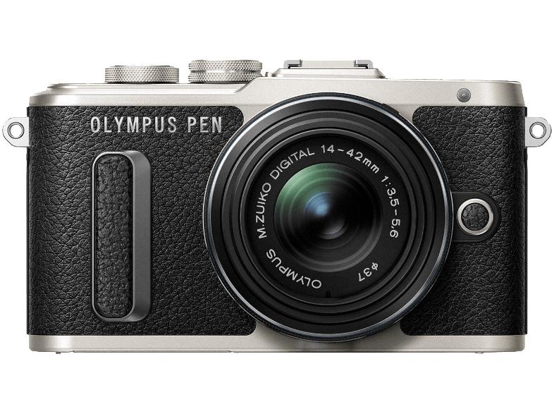 Olympus E‑PL8 Systemkamera mit Objektiv 14-42 mm