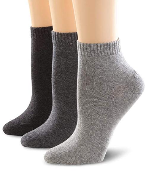 [Amazon Prime/Plus] 3er Pack s.Oliver Quarter Socken schwarz [Prime] oder weiß [Plus]