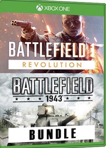 Xbox One Battlefield 1 Revolution + Battlefield 1943 Bundle Download