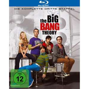 The Big Bang Theory Staffel 3 Blu Ray für 16,99 € bei Amazon!