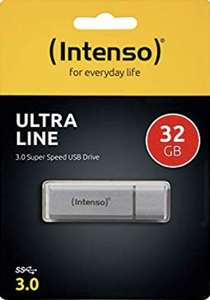[Amazon Prime] Intenso Ultra Line 32 GB USB-Stick USB 3.0 silber (Plus Produkt)