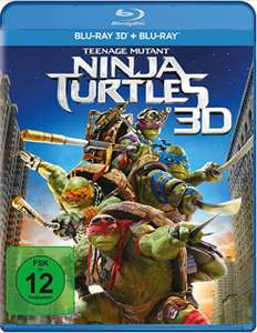 Dodax.de Teenage Mutant Ninja Turtles 3D-Bluray + 1 Blu-ray 4,98 inkl. Versand