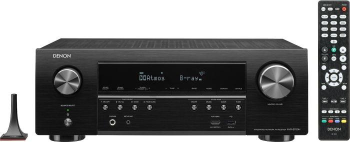 Denon AVR-S750H 7.2 Netzwerk-AV-Receiver (Dolby Atmos, DTS:X, AirPlay 2, HEOS, Audyssey MultEQ, 1x HDMI 2.0 Out eARC) schwarz 2019