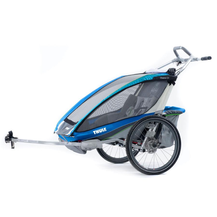 Thule Kinderfahrradanhänger Chariot CX2 Blue für 2 Kinder bei [Babymarkt]