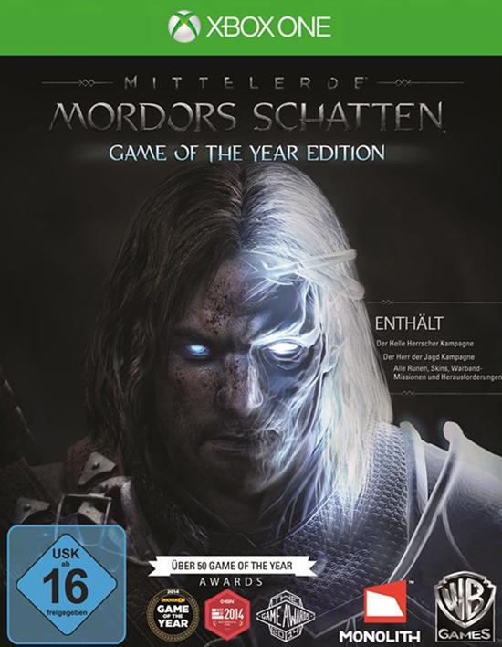 Mittelerde: Mordors Schatten Game of the Year Edition (Xbox One) für 10,99€ (Amazon Prime & GameStop)