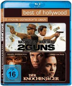 2 Guns & Der Knochenjäger  Best of Hollywood 2 Movie Collector's Pack (2 Disc Blu-ray) für 6,65€ (Amazon Prime)