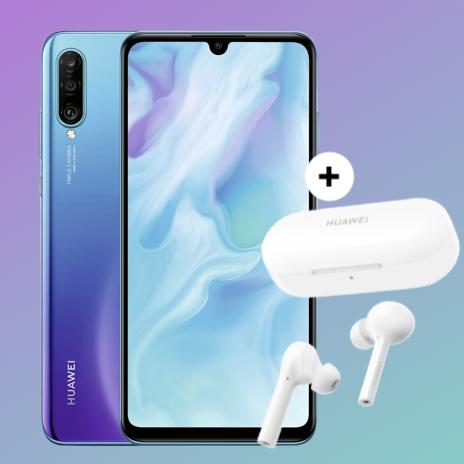 Huawei P30 Lite + Freebuds Lite für 5,99€ Zuzahlung im Blau Allnet XL (5GB LTE) für mtl. 15,99€ + 5€ Shoop Cashback im o2-Netz