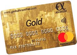 Advanzia Gebührenfreie Mastercard GOLD