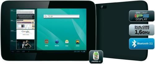 "Odys Genio Internet Tablet 17,78 cm (7"") mit Dual-Core Prozessor 119,05€"