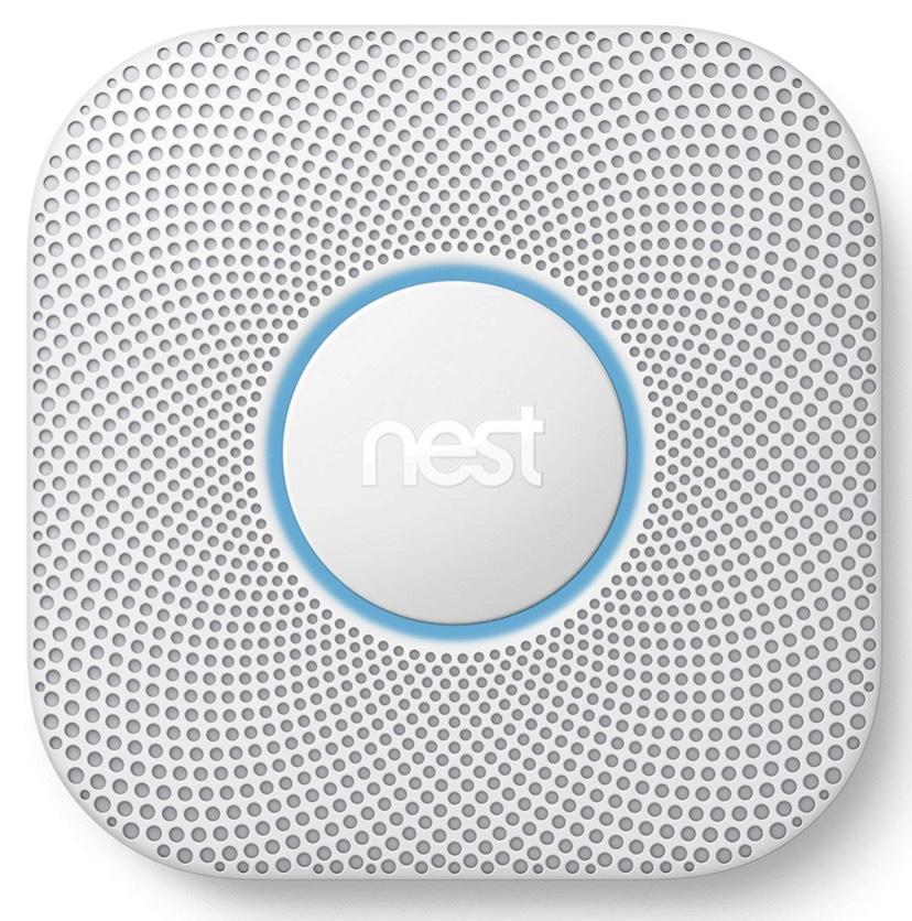 Nest Protect Rauch- u. CO-Melder 2. Generation (Batterie) [Amazon UK]