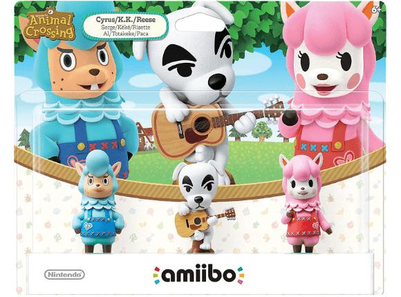 Amiibo 3er Pack Animal Crossing - Saturn