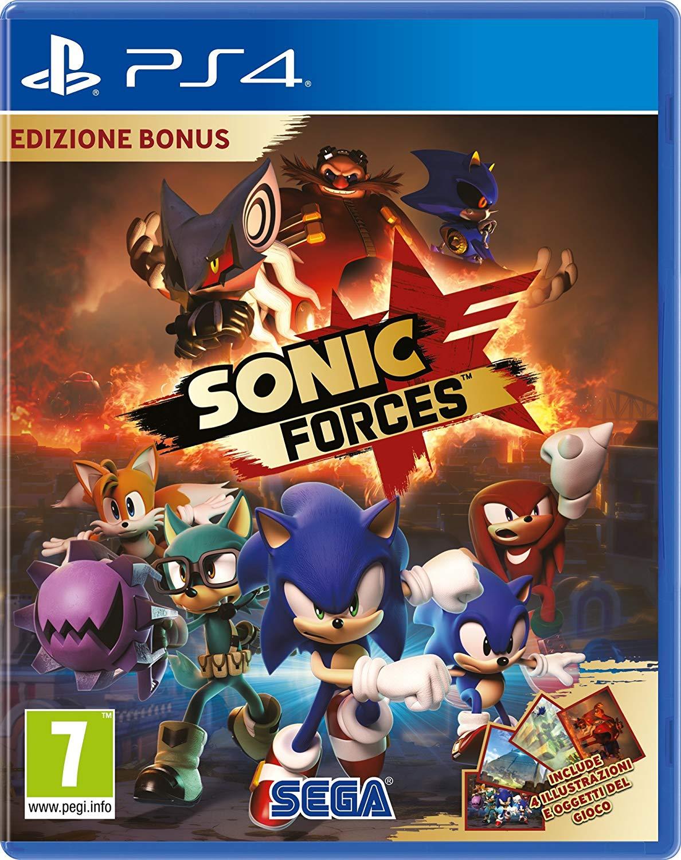 Sonic Forces (PS4) für 12,89€ (Amazon IT)