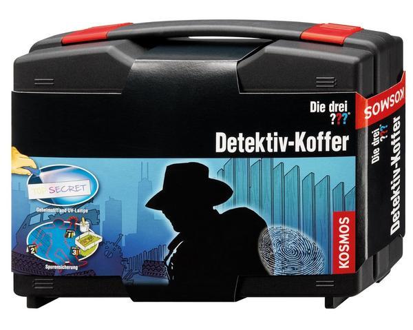 Die drei ??? Detektiv-Koffer für kleine Hobby-Detektive ab 8 Jahre