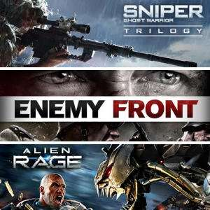 Sniper: Ghost Warrior Trilogy + Alien Rage Unlimited + Enemy Front (Steam) für 1,45€ (Fanatical)