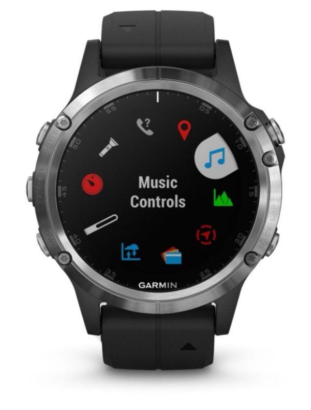 GARMIN Fenix 5+ - GPS-Multisportuhr Smartwatch