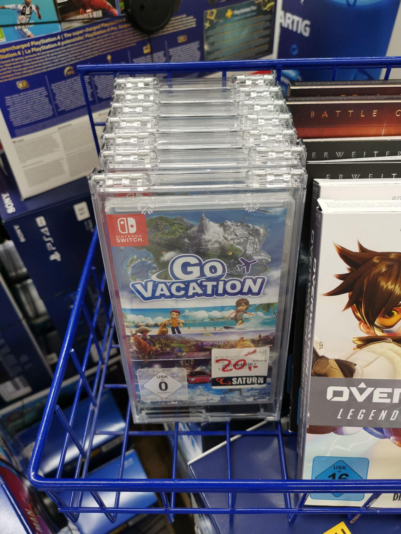Go Vacation Nintendo Switch - Saturn Berlin Gesundbrunnen [Lokal]