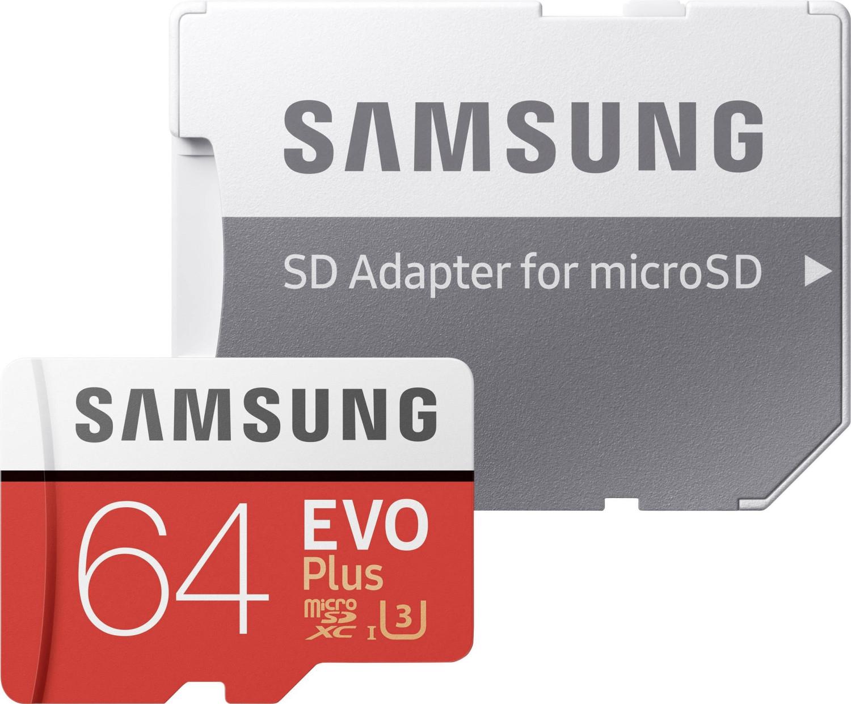 """Speicher-Tage - z.B. Samsung Evo Plus 64GB microSDXC-Karte   2x Samsung Bar Plus 32GB USB 3.1 Sticks: 15€  Intenso 480GB 2,5"""" SSD: 44€"""