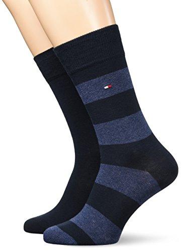2 Paar lange Tommy Hilfiger Socken - Gr. 39/42, 43/46 - AMAZON PRIME