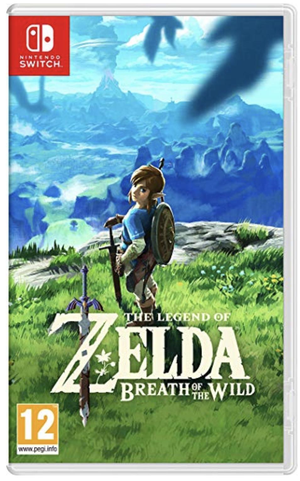 The Legend of Zelda: Breath of the Wild Nintendo Switch für 42,05€ inkl. Versandkosten