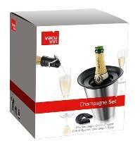 3tlg. Vacu Vin Geschenkbox Sekt/Champagner für 15,99€ frei Haus im dealclub