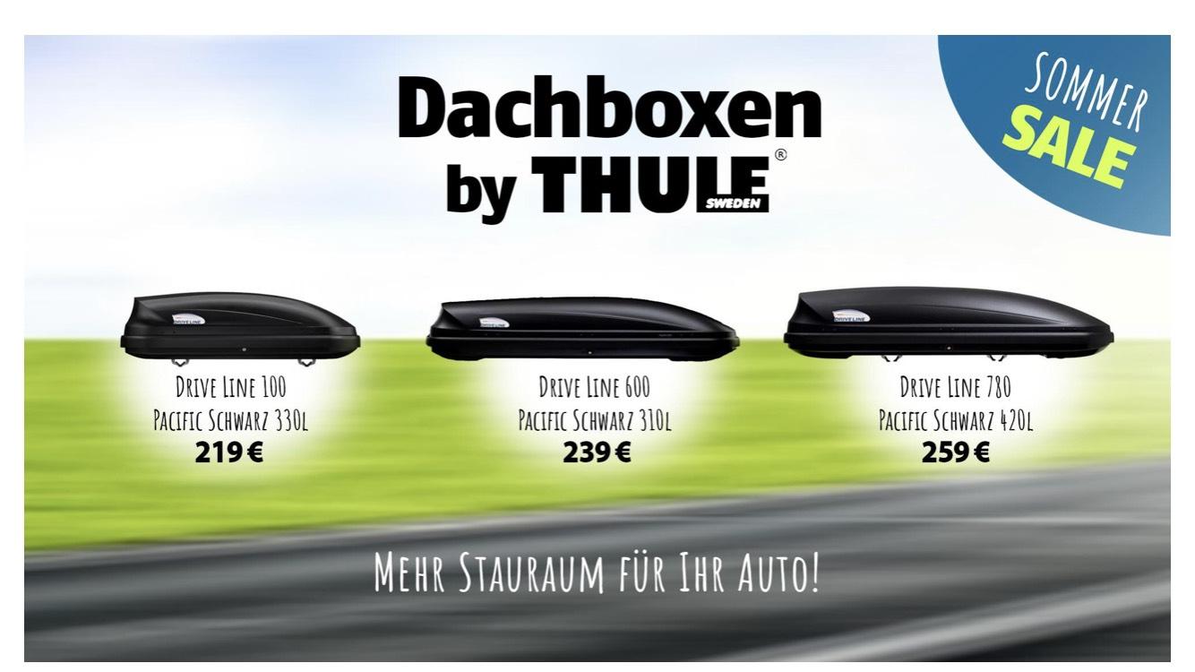AKTION: Thule Drive Line Pacific  780 /600/ 100 Dachbox zu guten Konditionen