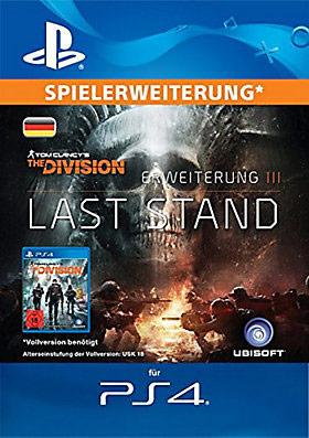 The Division Addon - Das letzte Gefecht (PS4) deutsch - Aldi online