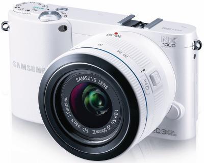 (LOKAL MEDI MAX Lutherstadt) Samsung NX1000 weiß