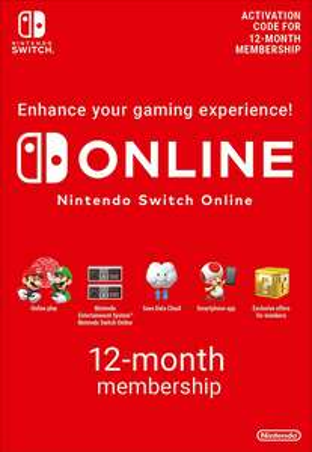 Nintendo Switch Online 12 Monate Mitgliedschaft für 16,03€ (CDkeys & ShopTo)