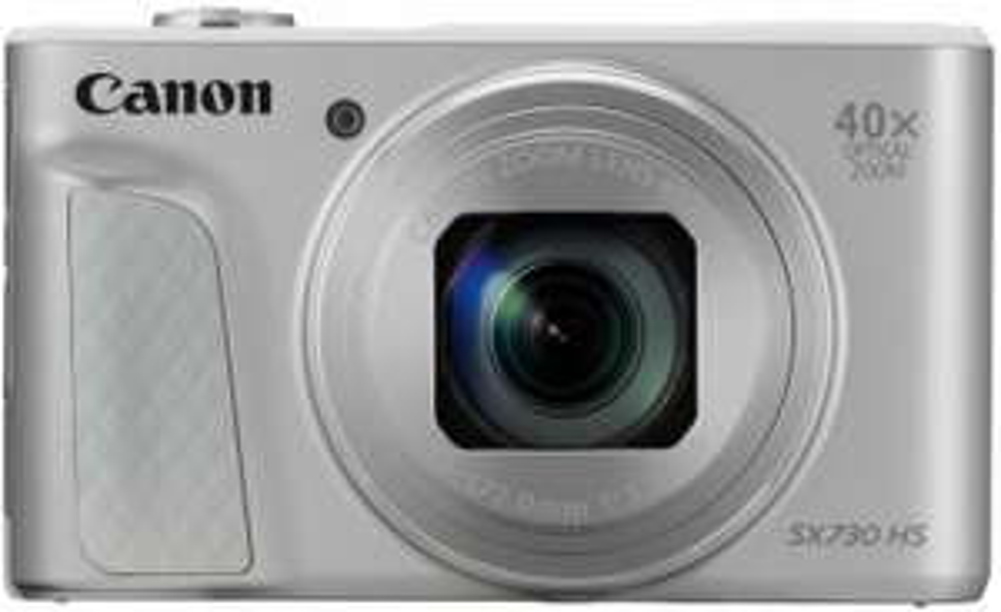 Canon PowerShot SX730 HS Digitalkamera (7,5cm (3 Zoll) 20,3 MP CMOS-Sensor, LCD-Display, 40 fach Zoom, Full HD, WLAN, Bluetooth) silber