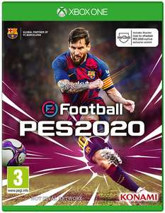 eFootball PES 2020 (Xbox One & PS4) für je 38,11€ (Base.com)