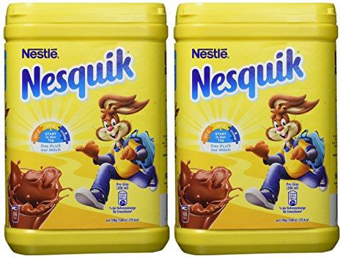 [prime] Nestlé Nesquik Kakaohaltiges Getränkepulver 2x900g Dose  (3,76 Euro/kg)
