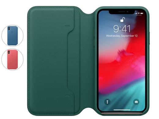 Apple Leder Folio Case für iPhone XS MAX (inkl. Versand)