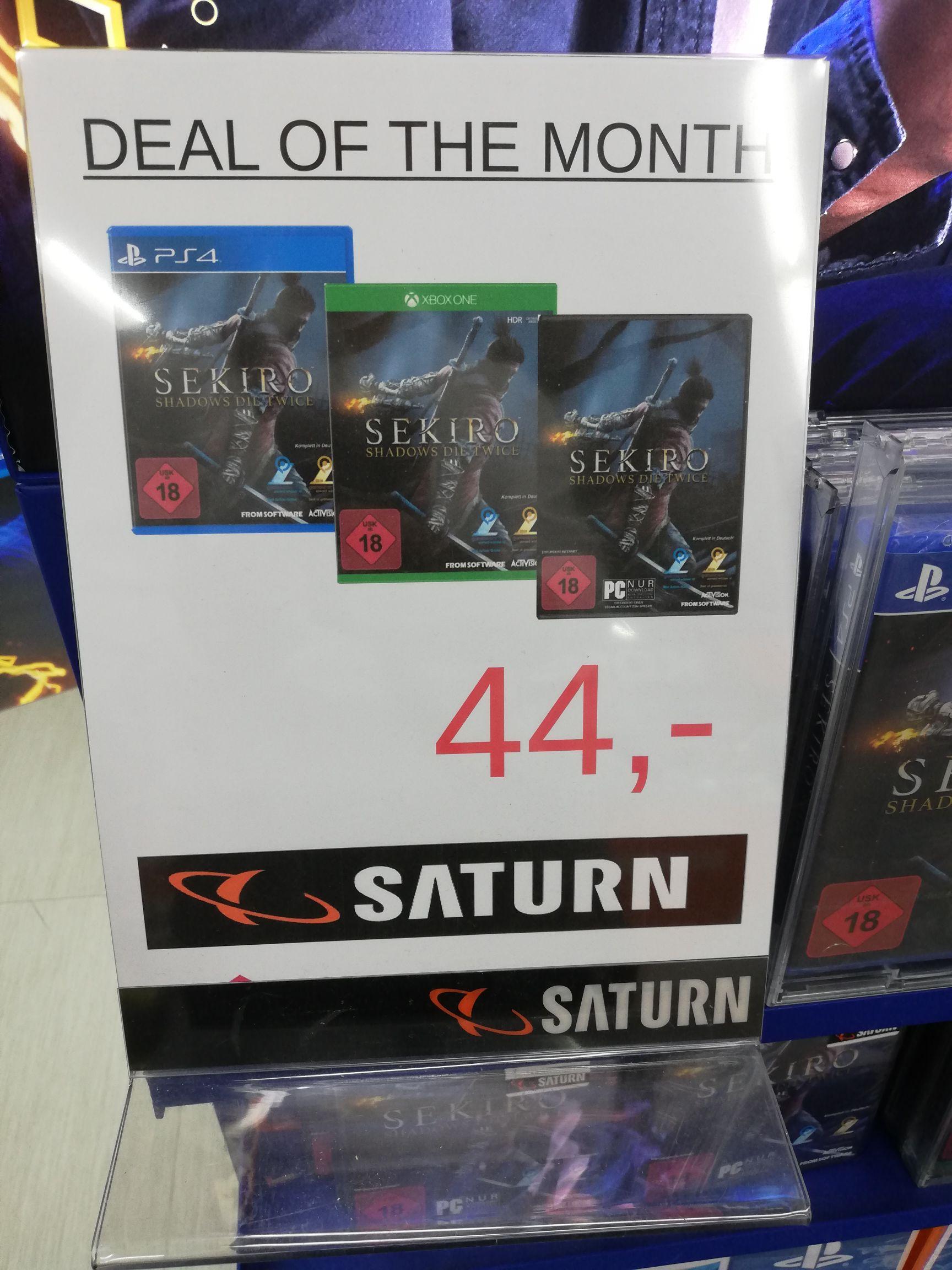 Lokal Saturn Europa Center Sekiro (PS4, XBOX ONE, PC)