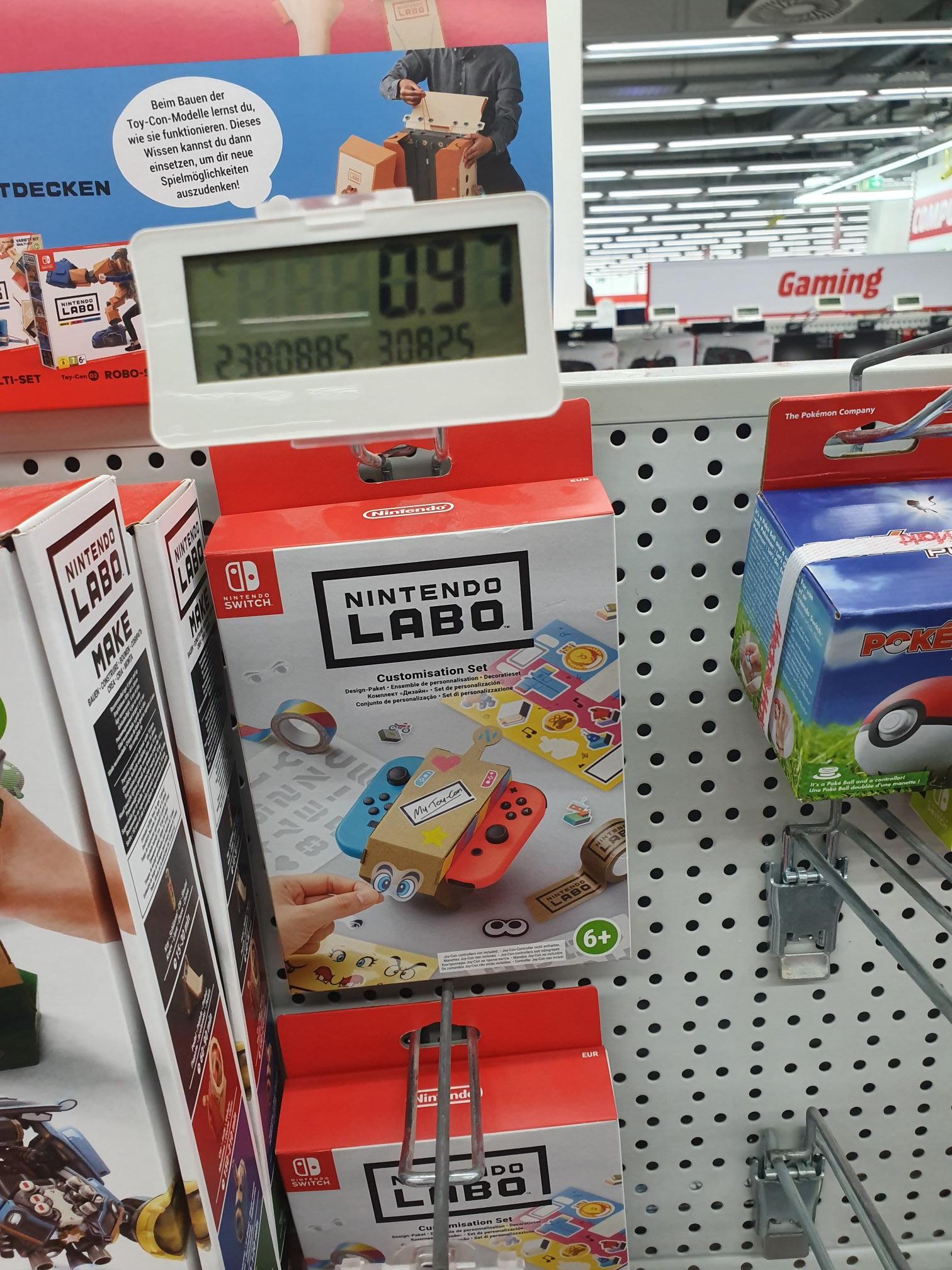 MM Dresden Elbepark [LOKAL] - Nintendo Labo:Design-Paket