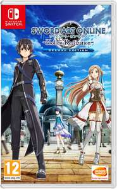 Sword Art Online: Hollow Realization Deluxe Edition (Switch) für 27,97€ (Shopto)