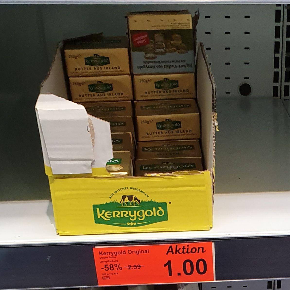 [LOKAL] ALDI-Wilnsdorf (Siegen) -Kerrygold Butter für 1€