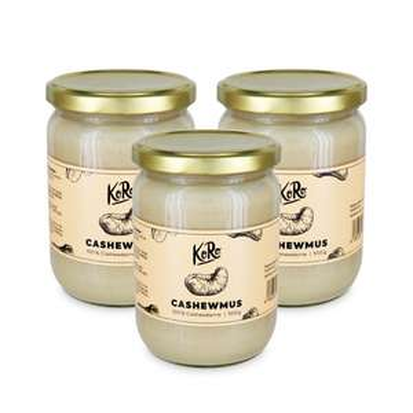 KoRo Cashewmus | 3 x 500 g
