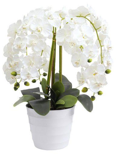 Handgemachte Nachbildung einer prachtvollen Orchidee mit Neukundenrabatt kombinierbar