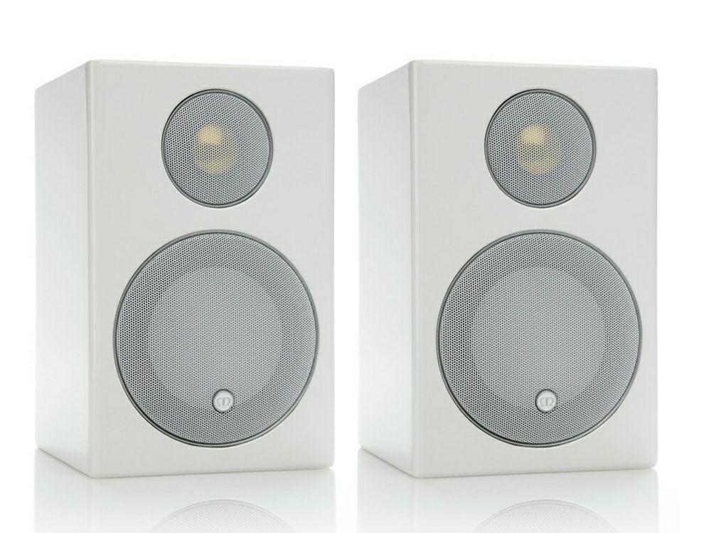 Monitor Radius 90 Bassreflex-Lautsprecher (Paarpreis, 2-Wege, 2,5cm Hochtöner, 10,2cm Tieftöner, 80Hz-35kHz, 83dB, 8Ω)