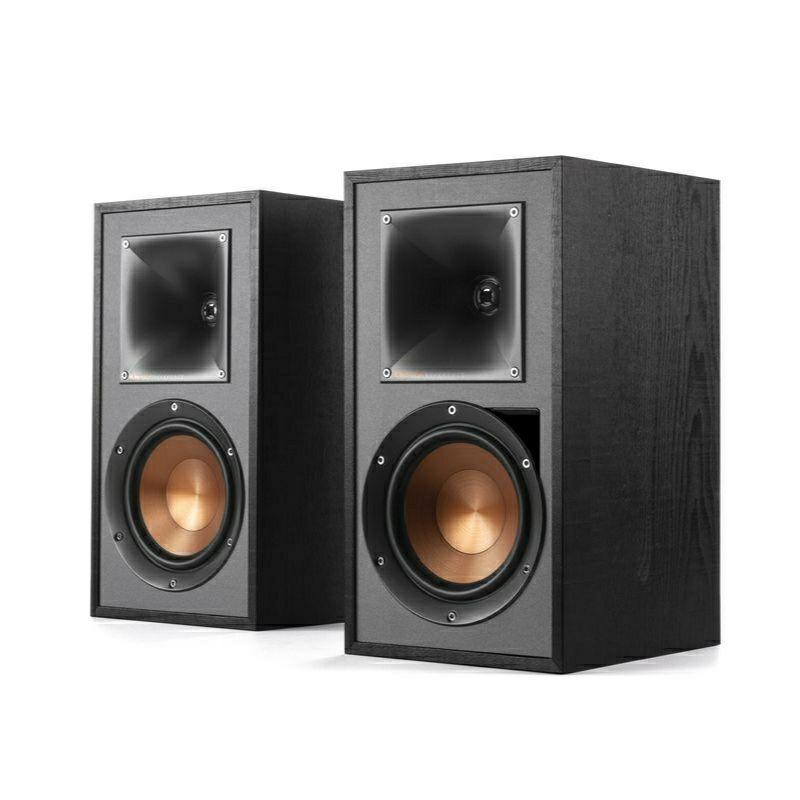 Klipsch R-51PM Bassreflex-Lautsprecher (Paarpreis, 2-Wege, 2,54cm Hochtöner, 13,3cm Tieftöner, 68Hz-21kHz)