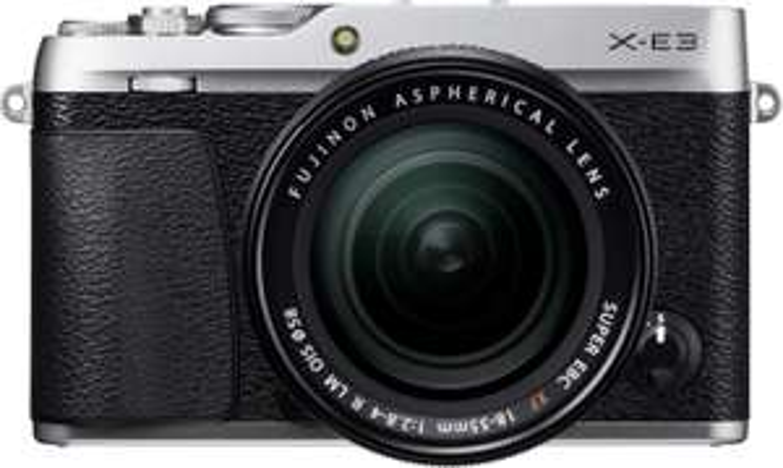 Fujifilm X-E3 Systemkamera inkl. Fujinon XF18-55F2,8-4 / XF23F2 Objektiv