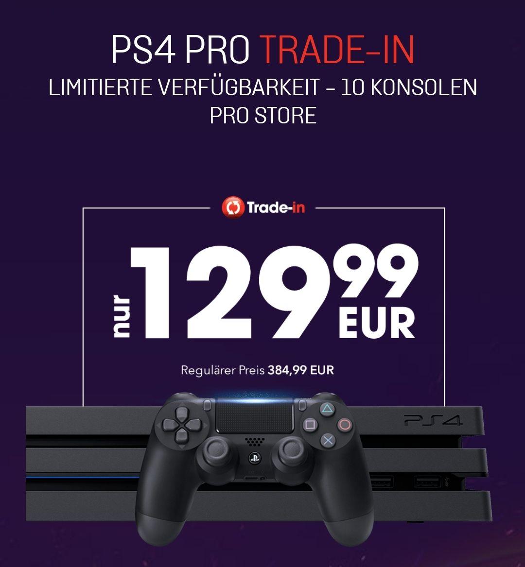 Gamestop Ps4 Pro Trade-In. PS4 + 3 Spiele + 129,99€ für eine PS4 Pro!