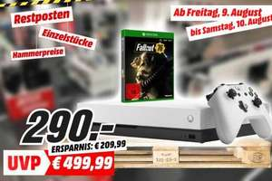 [Lokal: MM Berlin-Wedding] Xbox One X 1TB White Special Edition Fallout 76 | Philips 55PUS8303 =600€ | u.a.