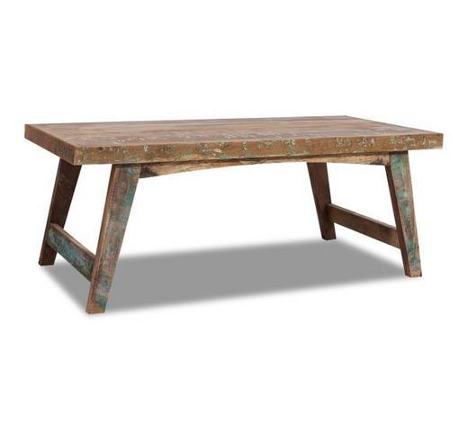 Massivholz-Couchtisch aus Recyclingholz (120x60x45 cm, Multicolor) [XXXLUTZ Abholung]