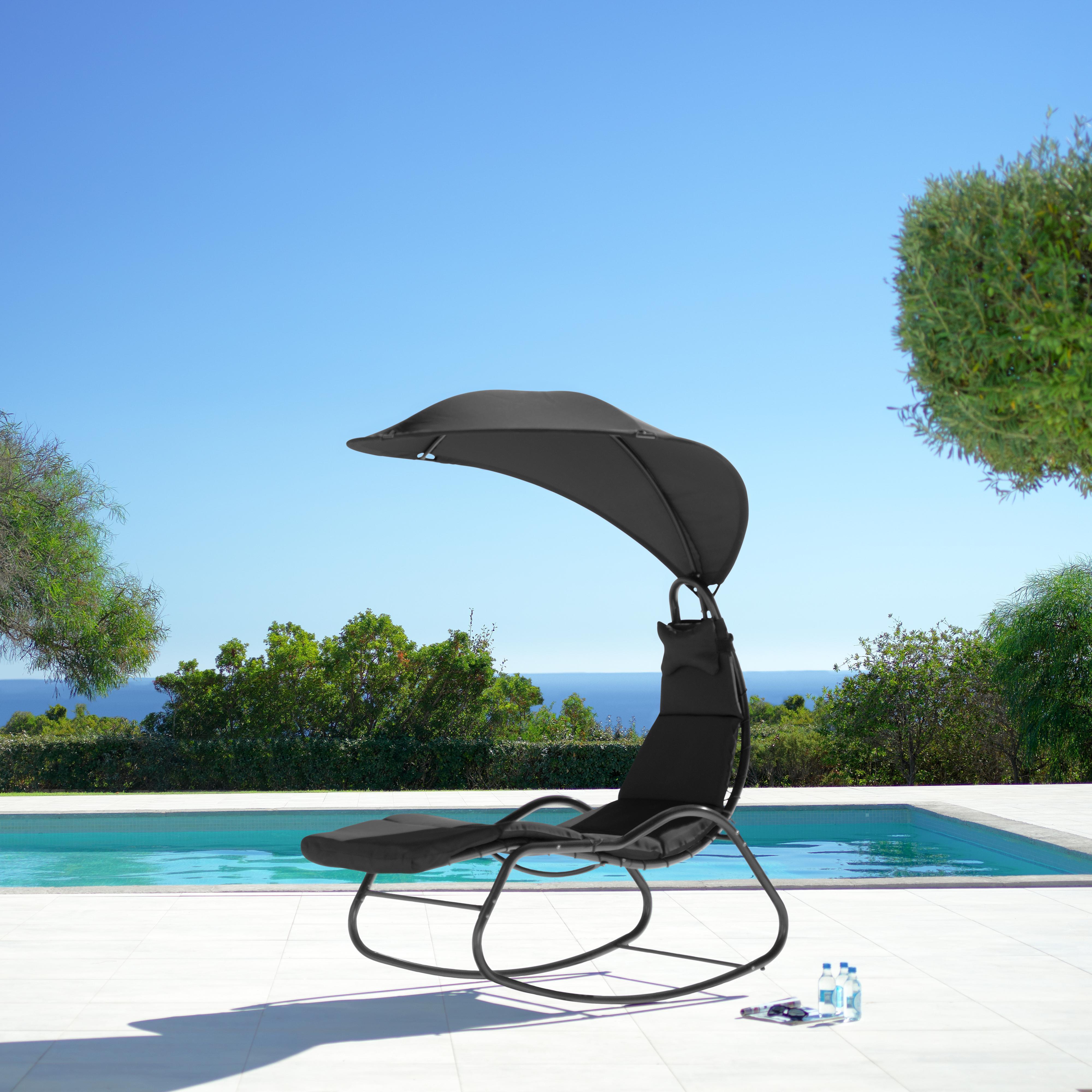 Gartelmöbelschnäppchen - Relaxsessel Cori, Gartenliege Kora (Lärchenholz) für 64,35 € / Duoschaukel, Hollywoodschaukel für 129,35 € @ Mömax