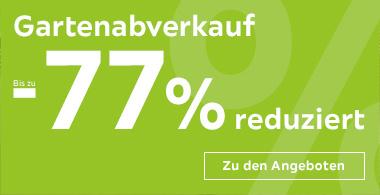 Bis zu 77% Rabatt im Gartenmöbel-Sale bei XXXLLutz (zB. Gartenstuhl Eukalyptusholz Naturfarben für 14,99 €)
